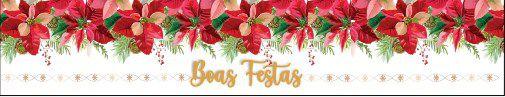 Cinta Grande para Panetone / Boas Festas