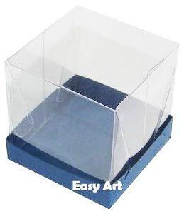 Caixinhas para Mini Bolos - Azul Marinho