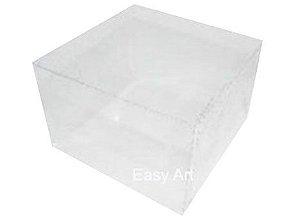 Caixinhas para Mini Bolos - 15x15x10 / Transparente