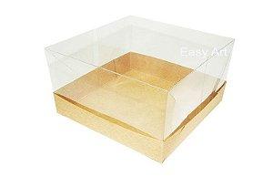 Caixinhas para Mini bolos - 15x15x10 / Kraft