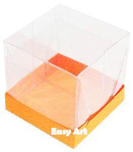 Caixinha para Mini Bolos - Laranja