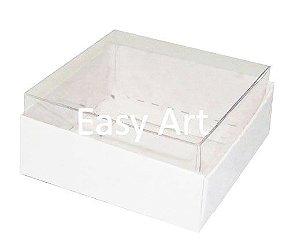 Caixinha para Amêndoas / Bijuteria 5x5x2,5 - Branco