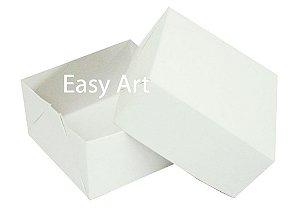 Caixa para 4 Brigadeiros - Branco