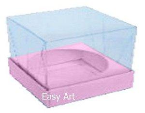 Caixa para Esferas de Sabonete - Rosa Claro