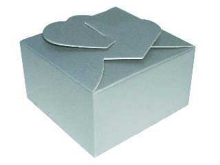 Caixinhas Coração para Trufas e Amêndoas - 5x5x3