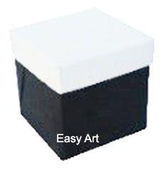 Caixinhas para Mini Bolos - Preto / Branco