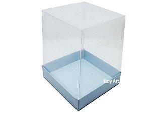 Caixinhas para Mini Bolos / Mini Panetones - Azul Claro