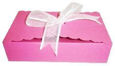 Caixinha para Biscoitos e Presentes - Pink