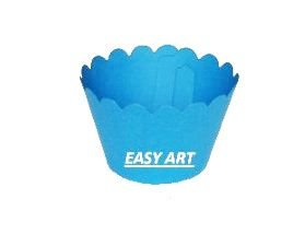 Wrapper para Cupcakes - Azul Turquesa