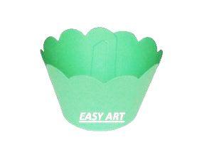 Wrapper para Cupcakes - Verde Pistache