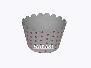 Wrapper para Cupcakes - 5,5x3,5x4,5