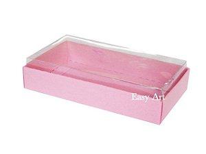 Caixinha para 1 Sabonete / Bijuterias - Rosa Claro