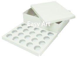 Caixas para Transporte de 20 Mini Cupcakes - Branco