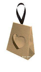 Caixinha Coração - Kraft