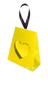 Caixinha Coração - Amarelo