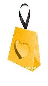 Caixinha Coração - Laranja Claro