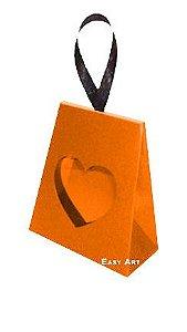 Caixinha Coração - Laranja