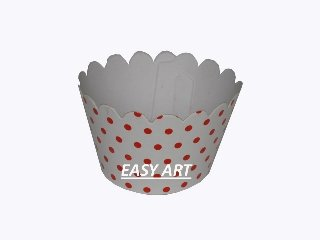Wrappers para cupcakes - 5,5x3,5x4,5