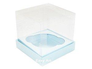 Caixas para Cupcakes - Azul Claro