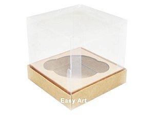 Caixas para Cupcakes 11x11x9 - Pct com 10 Unidades
