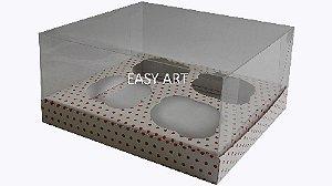 Caixas Especiais para Cupcakes - 17,5x18,5x9
