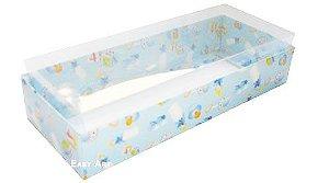 Caixa para 8 Brigadeiros - Estampado Bebê Azul