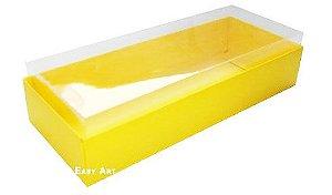 Caixa para 8 Brigadeiros - Amarelo