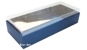 Caixa para 8 Brigadeiros - Azul Marinho