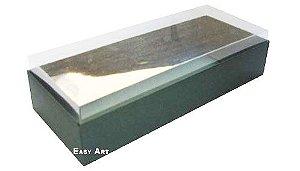 Caixa para 8 Brigadeiros - Verde Musgo