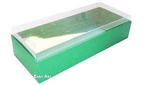 Caixa para 8 Brigadeiros - Verde Bandeira