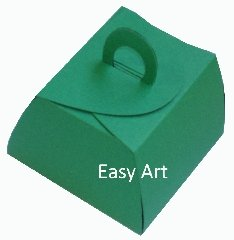 Caixinha Valise - Verde Bandeira