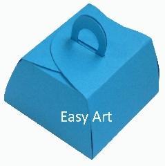 Caixinha Valise - Azul Turquesa