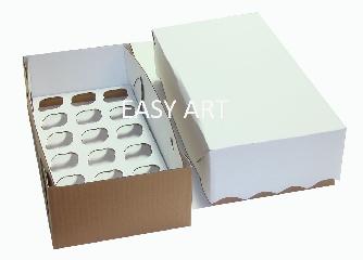 Caixas para Transporte de Mini Cupcakes - 35x18x10