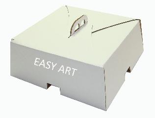 Caixas para Bolos e Tortas - Papelão Branco / Pardo