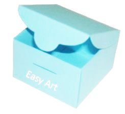 Caixinha para Bem casados - Azul Tiffany