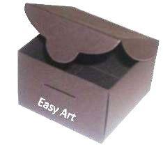 Caixinha para Bem casados - Marrom Chocolate