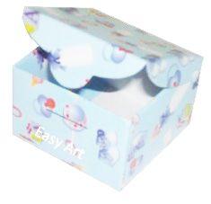 Caixinha para Bem casados  - Estampado Bebê Azul