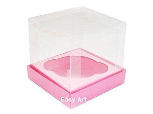 Caixas para Cupcakes - Rosa Claro