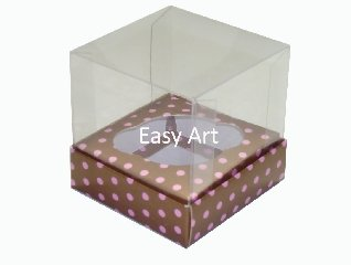 Embalagens Especiais para Cupcakes - 7,5x7,5x10