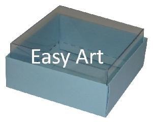 Caixinhas para Bijuterias / Azul Claro - 5x5x2,5