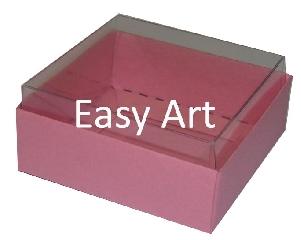 Caixinhas para Bijuterias / Rosa Claro - 5x5x2,5