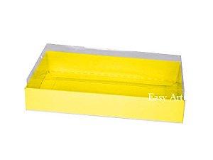 Caixinha para 1 Sabonete / Bijuterias - Amarelo