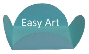 Forminhas para Doces - Pacote com 100 Unidades / Azul Tiffany