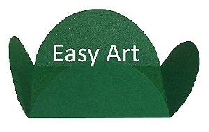 Forminhas para Doces - Pacote com 100 Unidades / Verde Bandeira