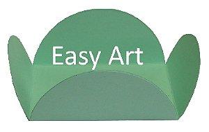 Forminhas para Doces - Pacote com 100 Unidades / Verde Claro
