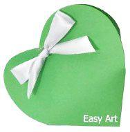 Caixinha Coração - Verde Pistache