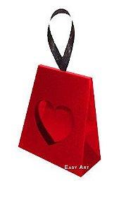 Caixinha Coração - Vermelho