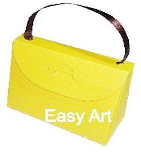 Caixa Bolsinha - Amarelo