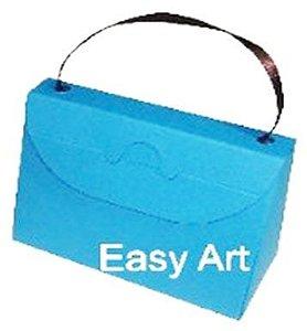 Caixa Bolsinha - Azul Turquesa