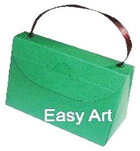 Caixa Bolsinha - Verde Bandeira